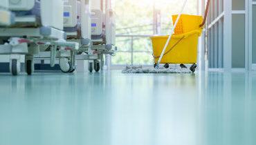 Sprzątanie w służbie zdrowia